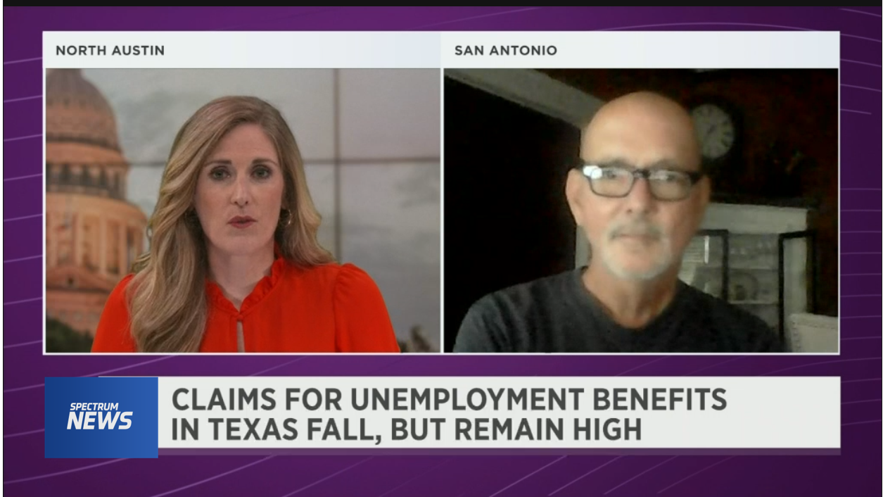Claims for Unemployment Benefits in Texas Fall, But Remain High
